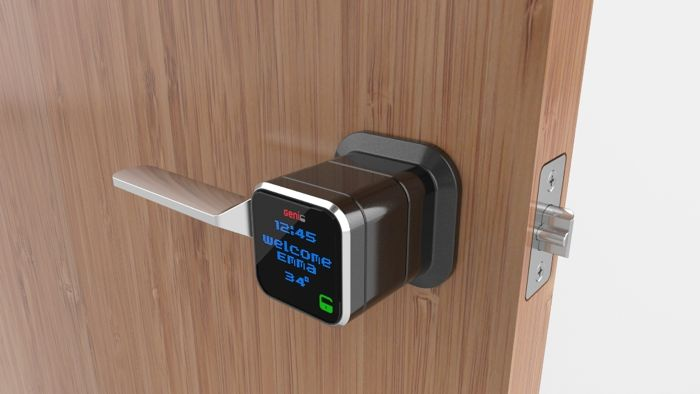 Genie Smart Lock Lets You Unlock Your House With Your Smartphone
