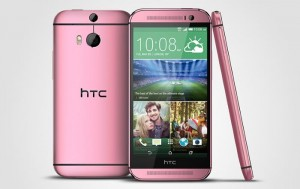 HTC One M8 Makes An Appearance in Pink Color, Will Hit The UK Next Month