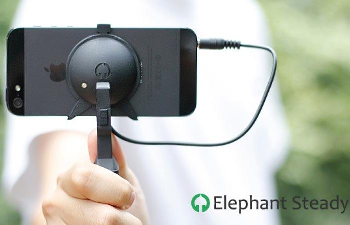 iPhone camera stabilizer