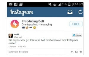 Instagram readying possible Snapchat competitor
