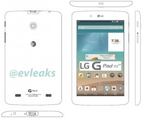 LG G Pad 7.0 LTE for AT&T Leaked