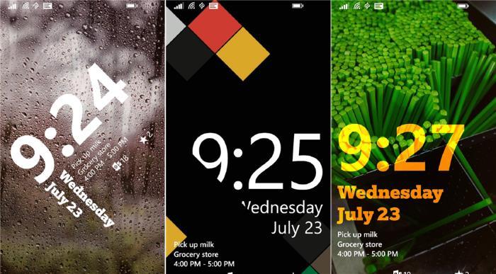 Live Lockscreen App