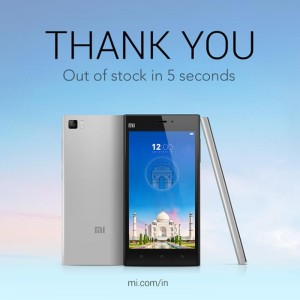 Xiaomi Mi3 Sells Out In India In Five Seconds