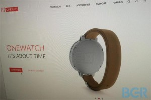 The Rumored OnePlus Smartwatch Leaked