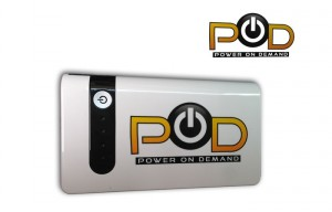 POD Power On Demand 12,000 mAh Portable Battery Capable of Starting A V10 Engine (video)