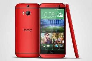 Red HTC One M8 Lands On O2 UK Next Month
