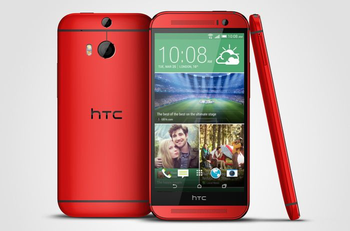 red htc one m8