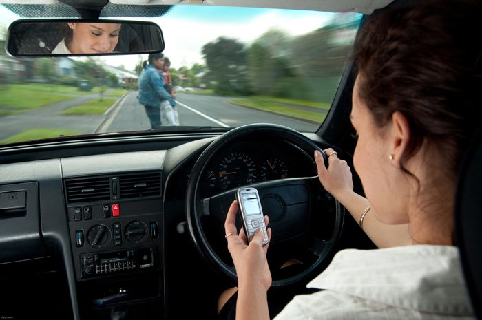 smartphone driving