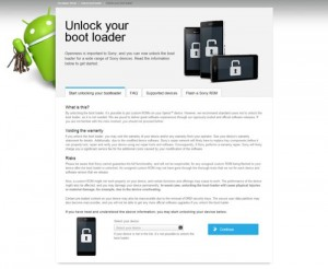 Sony Xperia Bootloader Unlock Gets Simpler