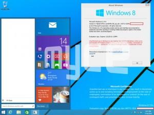 New Windows 9 Screenshots Show The Start Menu