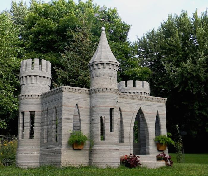 The World's First 3D Printed Castle