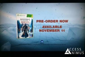 Assassin's Creed Rogue Release Date Revealed In Leaked Trailer