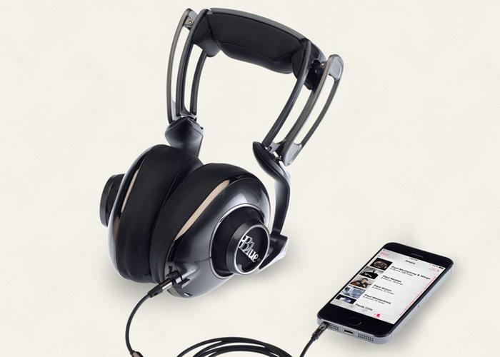 Blue Mo-Fi Headphones
