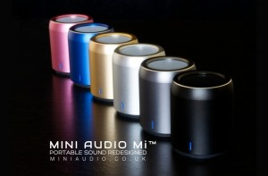 Mini Audio Mi Tiny NFC Bluetooth Speaker Is As Small As An Egg (video)