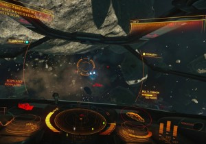 Elite Dangerous Beta Gameplay Demonstrates Han Solo Style Moves (video)