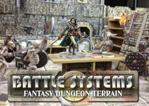 Battle Systems Fantasy Dungeon Terrain Launches On Kickstarter (video)