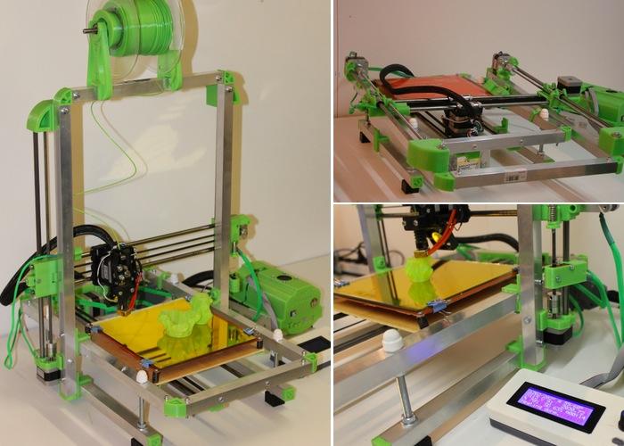 Folding 3D Printer