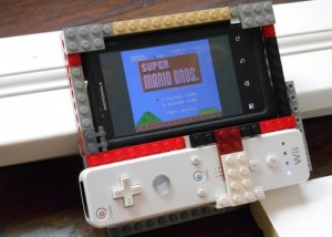 Lego Smartphone Game Controller Using Wiimote Or PS3 Controller