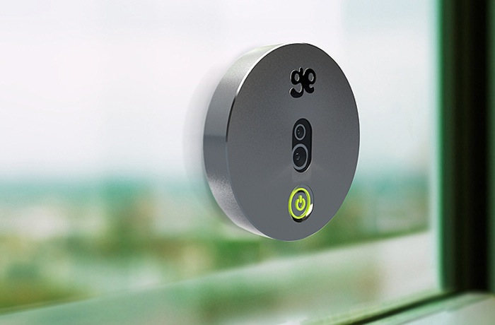 Geckoeye Motion Sensor Solar Powered Wireless Security