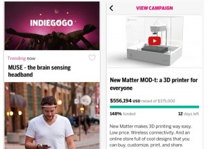 Indiegogo Launches New iPhone App (video)