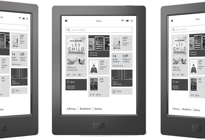 Kobo Aura H2O Waterproof eBook Reader