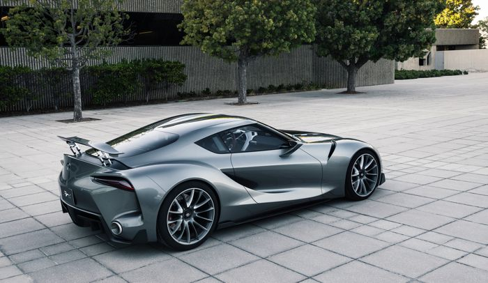 New Toyota Concept Sports Car New Toyota Ft-1 Concept Coupe