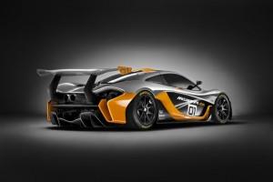 McLaren P1 GTR Design Concept Unveiled At Pebble Beach