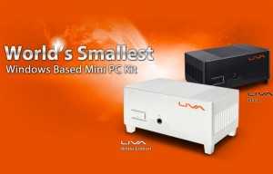 New ECS LIVA Mini PC Kit With 64GB Of Storage Launches This Month (video)