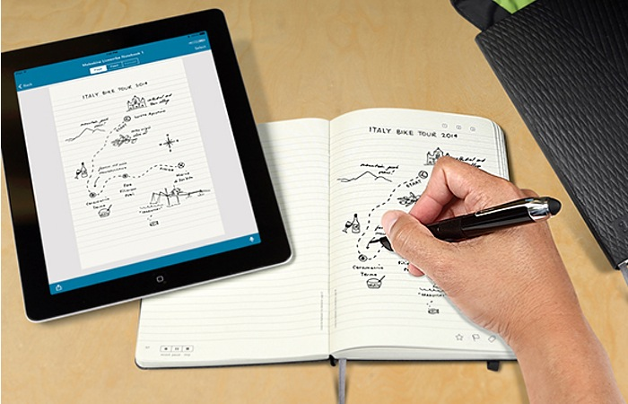 New Moleskine Notebooks Now Support Livescribe Smartpens