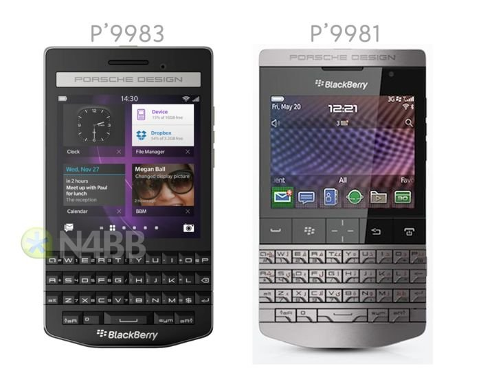 porsche design blackberry p9883 smartphone leaked. Black Bedroom Furniture Sets. Home Design Ideas