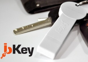 bKey Portable Smartphone Battery Is The Perfect Keyring Accessory (video)