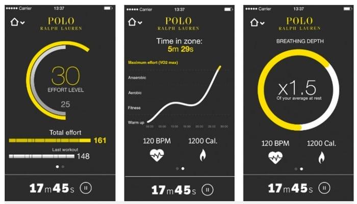 Ralph Lauren Polo Tech Smart Shirt Measures Your Biometrics (video)