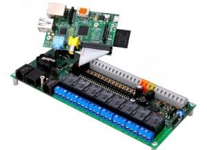 UniPi Raspberry Pi Expansion Board (video)
