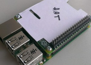 Raspberry Pi Model B+ Can Be Equipped With HATs (Hardware Attached on Top)