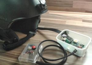Raspberry Pi Helmet Camera And GPS Plotter (video)