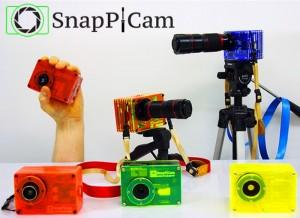 SnapPiCam Raspberry Pi Powered Digital Camera Kit (video)