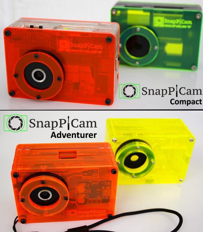 SnapPiCam Raspberry Pi Powered Digital Camera Kit (video)