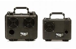 Demerbox Rugged Wireless Speaker Boombox Kits Kickstarter (video)