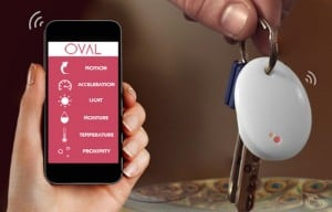 OVAL Smart Sensor Protects Your Belongings, Pets And People In Your Life (video)
