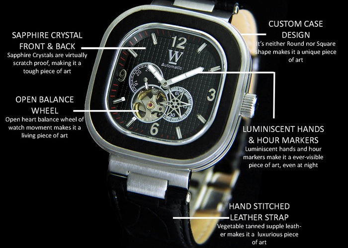 TESORO Automatic Mechanical Watch