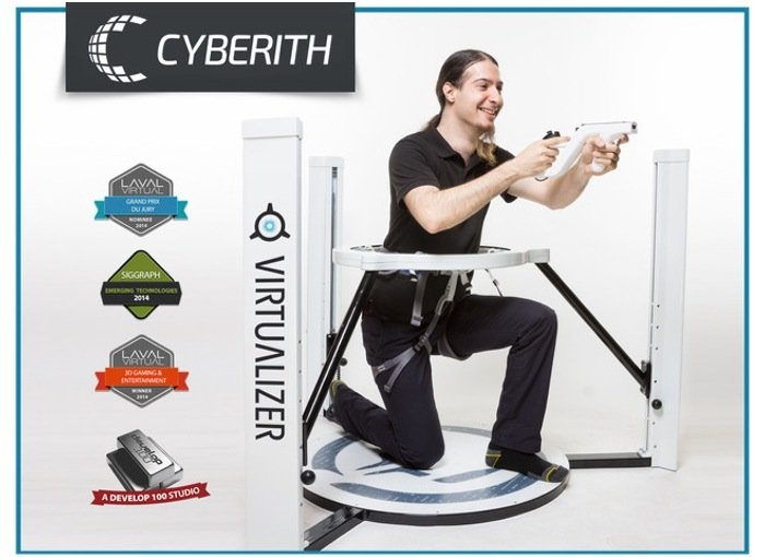 Cyberith Virtualizer Virtual Reality Games System Video
