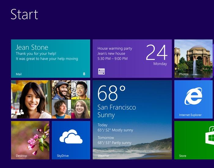 Windows 8.1 notebook