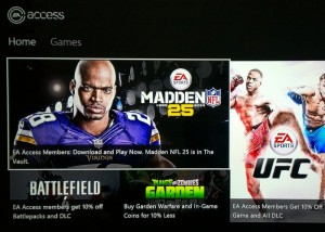 Xbox One EA Access Monthly Game Subscription Service Now Live