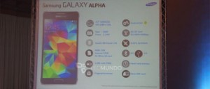 Samsung Galaxy Alpha Specifications and Price Leaked