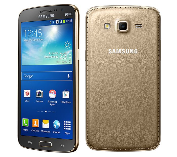 Gold Samsung Galaxy Grand 2