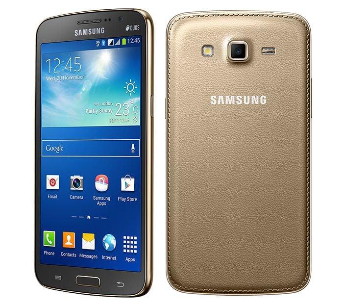 Gold Samsung Galaxy Grand 2