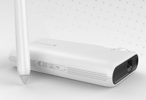 TouchPico Handheld Projector Transforms Any Surface Into A Touchscreen (video)