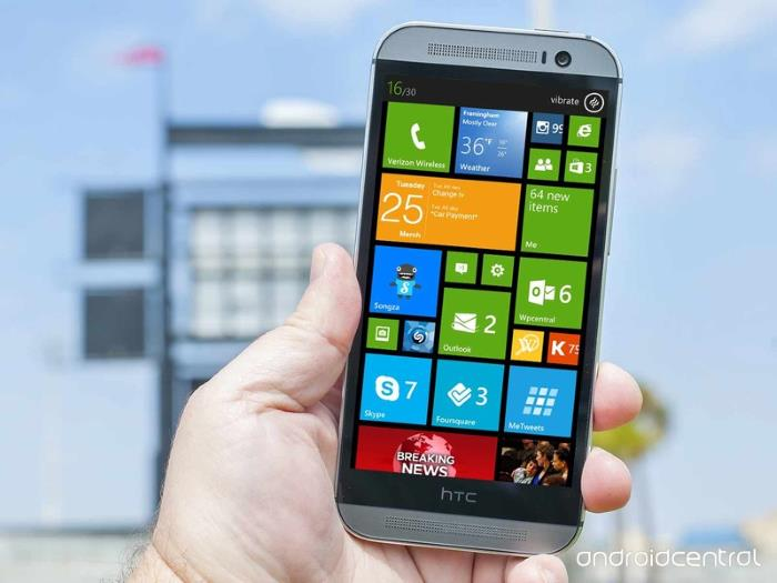 HTC One for Windows Specifications Leaked