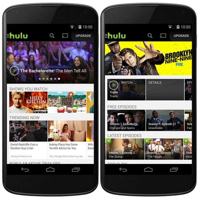 Hulu Plus app for Android Updated with more Free Content ...