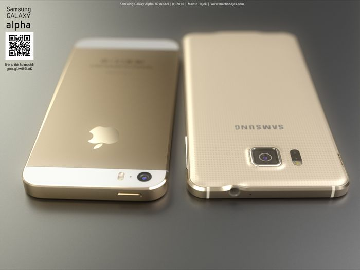 iPhone 5S vs Samsung Galaxy Alpha